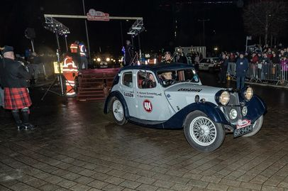 Monte Carlo Rally starts in Glasgow