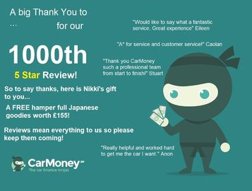 Win prizes by leaving Reviews! | 1000th 5 Star Review
